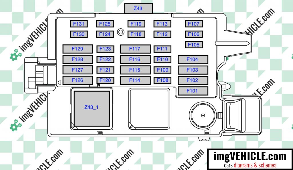 BMW G20 G21 Sicherungskasten Diagramm 2