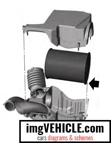 filtro aria motore ford focus 3