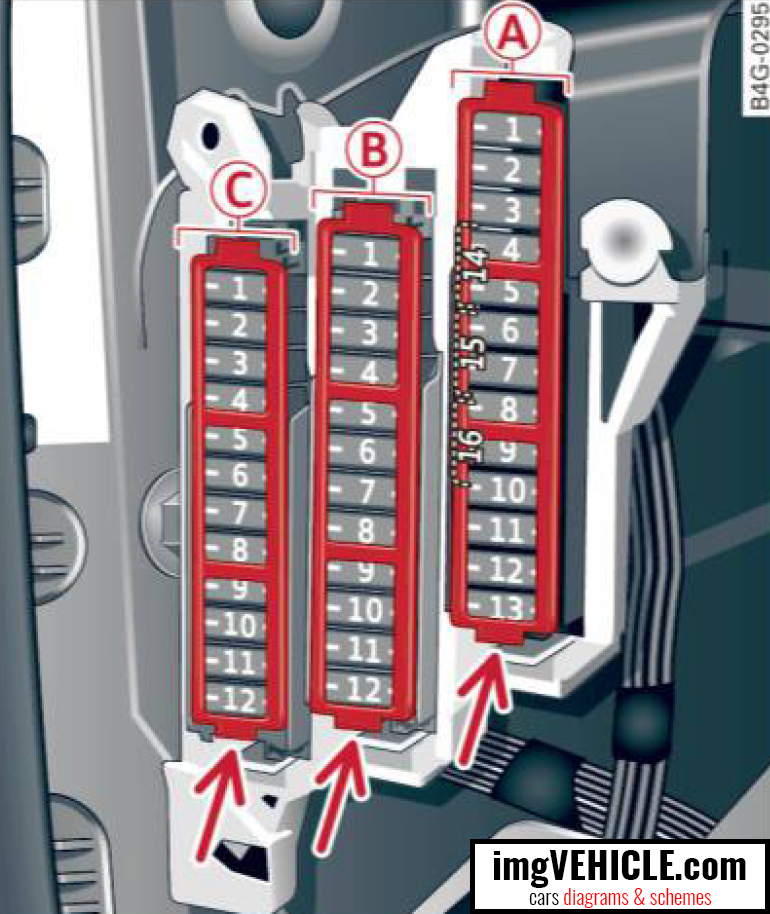 Fuse Box Blew Up : Audi a c fuse box diagrams schemes imgvehicle