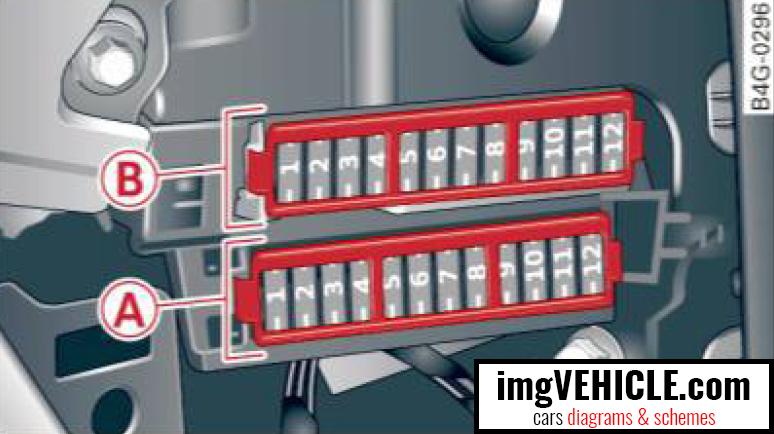 audi a6 c7 fuse box diagrams schemes imgvehicle com rh imgvehicle com 1999 Audi A6 Wiring Diagrams 2013 Audi A6 Wire Diagram