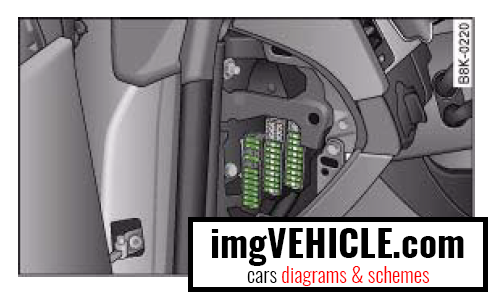 Audi A4 B8 Fuse Box Diagrams Amp Schemes Imgvehicle Com