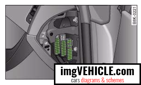 audi a4 b8 fuse box diagrams schemes imgvehicle com rh imgvehicle com