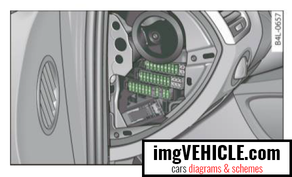 Audi Q7 4L Fuse box diagrams & schemes - imgVEHICLE.com