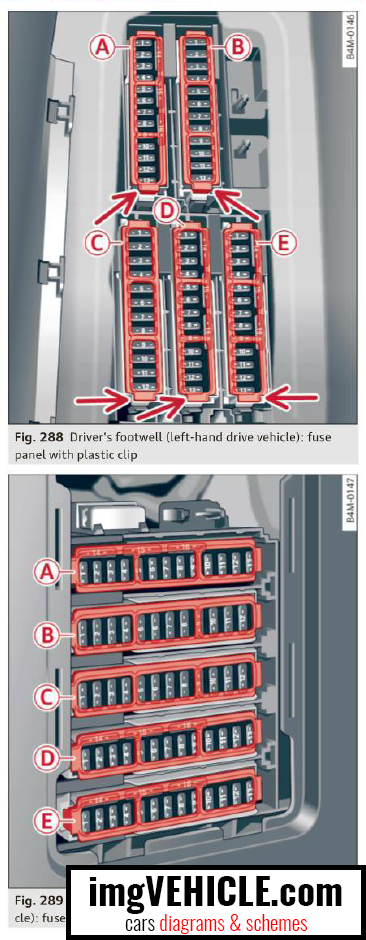 Audi Q7 4m Fuse Box Diagrams  U0026 Schemes