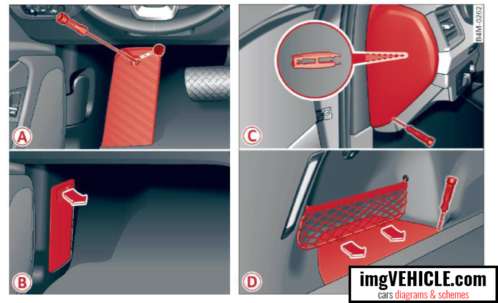 Audi Q7 4M (2015-2019) Fuse box diagrams & schemes - imgVEHICLE.com | Audi Q7 Fuse Box Location |  | imgVEHICLE.com