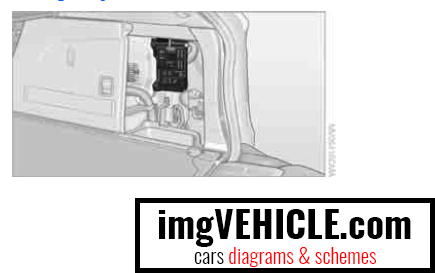 BMW X5 II (E70) Fuse box cargo bay fuse box location