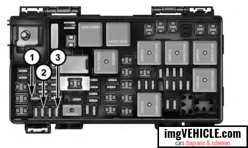 chrysler town & country v (2008-2016) fuse box diagrams & schemes -  imgvehicle.com  imgvehicle.com