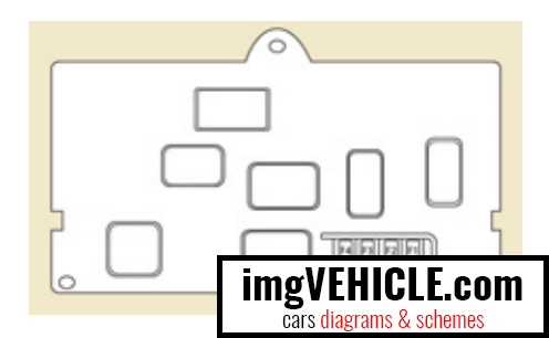 Citroën Berlingo II Fuse box towing / towbar / coachbuilders / platform cab fuses