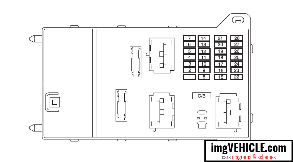 Ford Fusion I (2006-2012) Fuse box diagrams & schemes - imgVEHICLE.comimgVEHICLE.com