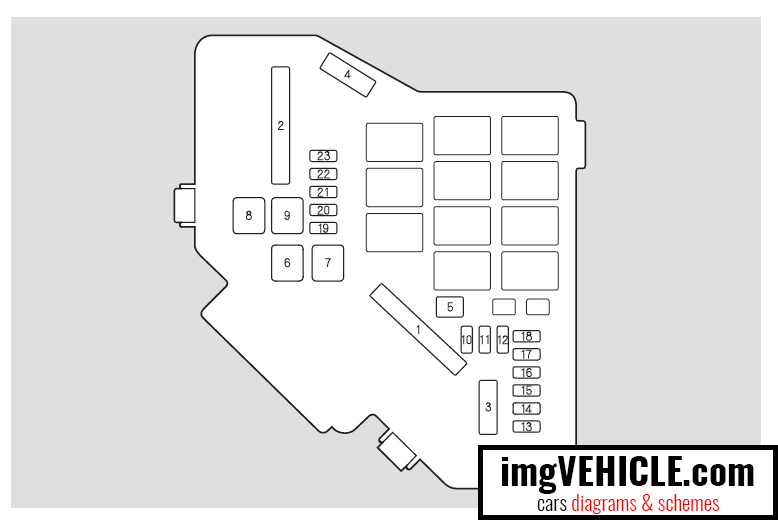 [SCHEMATICS_4ER]  Honda Civic VIII Fuse box diagrams & schemes - imgVEHICLE.com | Fuse Box For 2006 Honda Civic |  | imgVEHICLE.com