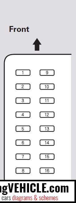 2008 honda pilot fuse box honda pilot i fuse box diagrams   schemes imgvehicle com  honda pilot i fuse box diagrams