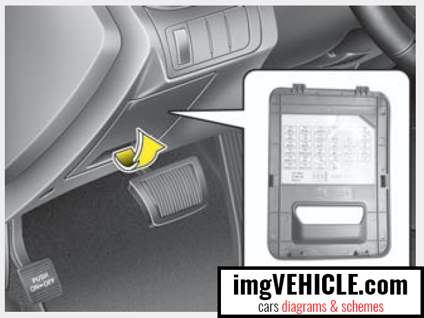 Kia Optima III Fuse box diagrams & schemes - imgVEHICLE.com