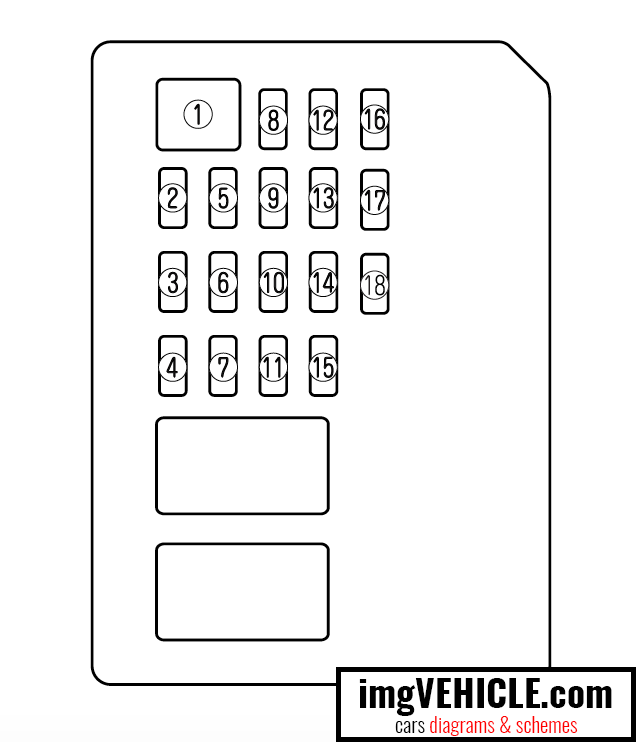 Mazda 6 GH1 Fuse box diagrams & schemes - imgVEHICLE.com