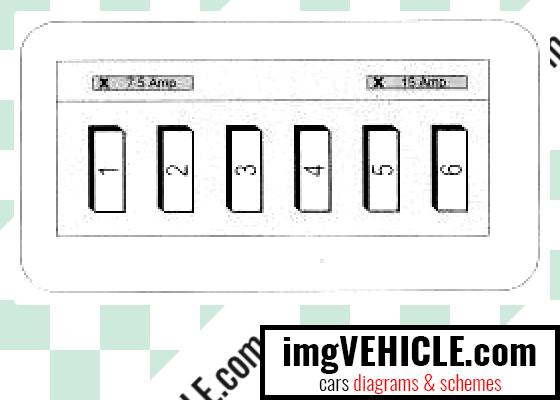 Mercedes-Benz A Class I (W168) Fuse box light switches fuse box