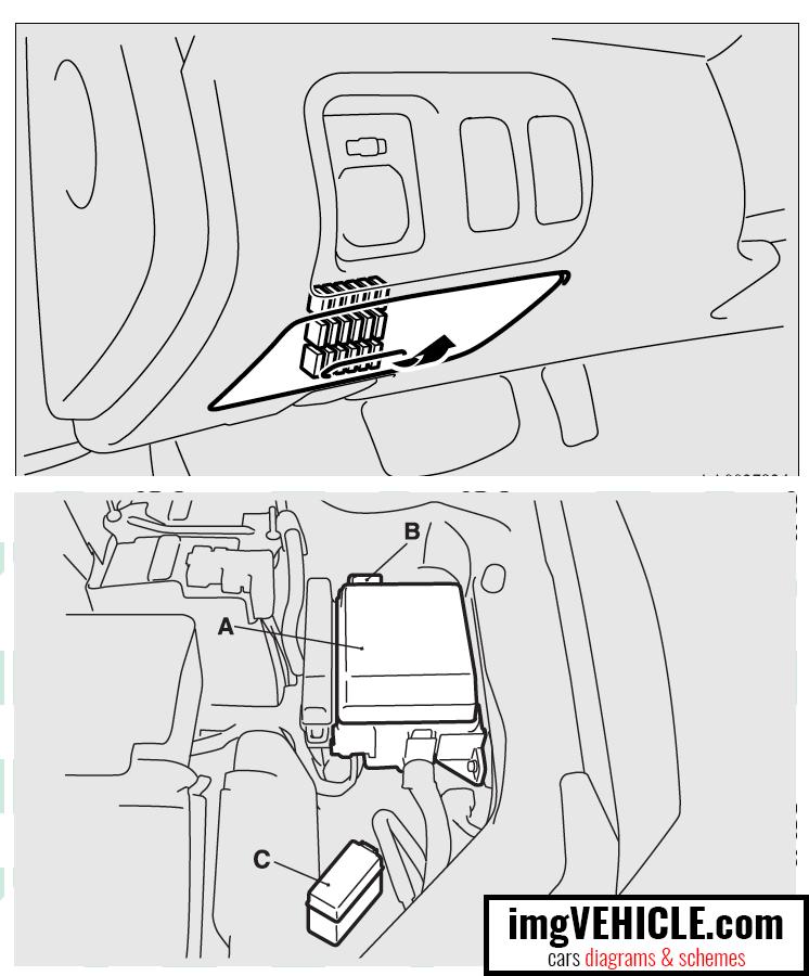 Mitsubishi Eclipse 4g  2006-2011  Fuse Box Diagrams  U0026 Schemes