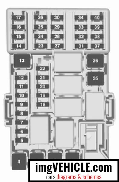 Opel Corsa E Fuse Box Diagrams  U0026 Schemes
