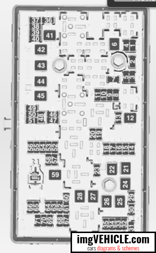 [DIAGRAM_0HG]  Opel Insignia I Fuse box diagrams & schemes - imgVEHICLE.com | Opel Fuse Box |  | imgVEHICLE.com