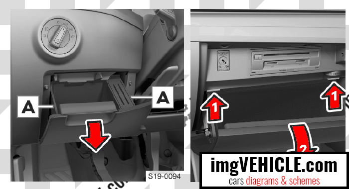 Škoda Superb III Fuse box dash panel fuse box location