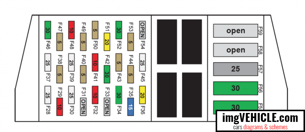 tesla model s fuse box wiring diagram detailed Tesla Model S Exploded View tesla model s (europe) fuse box diagrams \u0026 schemes imgvehicle com geo fuse box