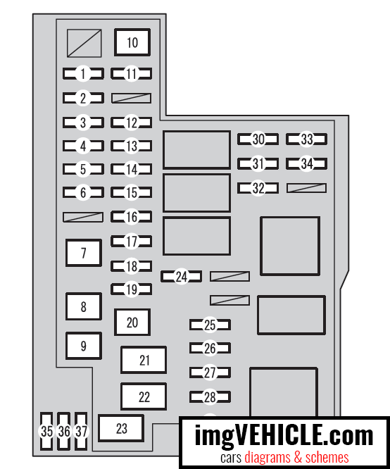 Toyota Rav4 Xa40 Fuse Box Diagrams  U0026 Schemes
