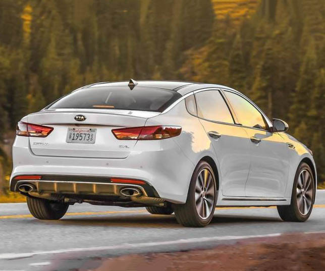 Kia Optima IV 2016 - 2018